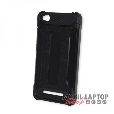 Kemény hátlap Xiaomi Redmi 4A ütésálló műanyag + gumi fekete