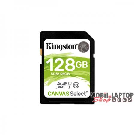 Kingston 128GB SD Canvas Select 80R (SDXC Class 10 UHS-I) (SDS/128GB) memória kártya