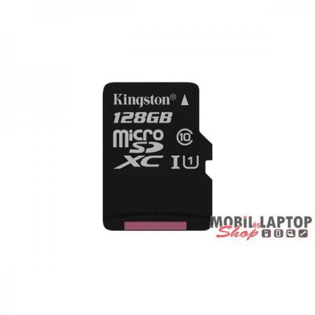 Kingston 128GB SD micro Canvas Select 80R (SDXC Class 10 UHS-I) (SDCS/128GBSP) memória kártya