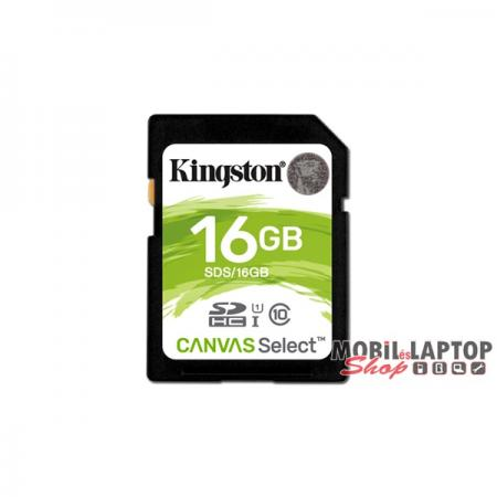 Kingston 16GB SD Canvas Select 80R (SDHC Class 10 UHS-I) (SDS/16GB) memória kártya