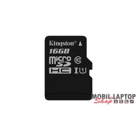 Kingston 16GB SD micro Canvas Select 80R (SDHC Class 10 UHS-I) (SDCS/16GBSP) memória kártya