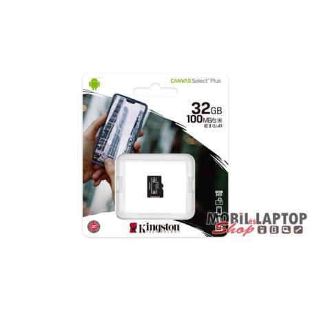 Kingston 32GB SD micro Canvas Select Plus (SDHC Class 10 A1) (SDCS2/32GBSP) memória kártya