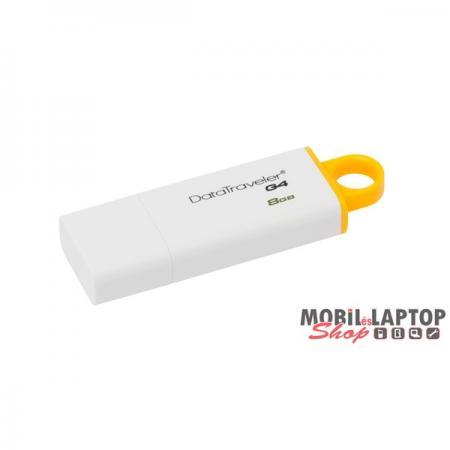Kingston 8GB USB3.0 Sárga-Fehér (DTIG4/8GB) Flash Drive