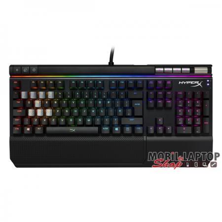 Kingston HyperX Alloy Elite RGB US Mechanikus (Cherry MX kék) gamer világító billentyűzet