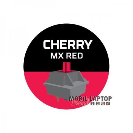 Kingston HyperX Alloy Elite RGB US Mechanikus (Cherry MX piros) gamer világító billentyűzet