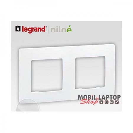 Legrand 665002 Niloé fehér 2-es keret