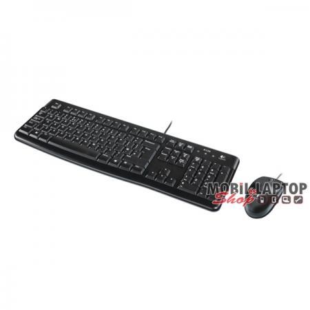 Logitech MK120 HUN fekete USB billentyűzet + egér