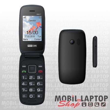 Maxcom MM817BB fekete időstelefon FÜGGETLEN
