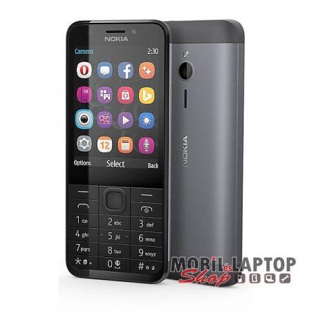 Microsoft Nokia 230 dual sim fekete-szürke FÜGGETLEN
