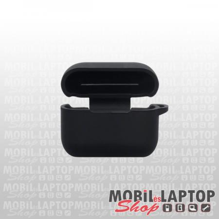 Szilikon tok Apple AirPods Pro fekete