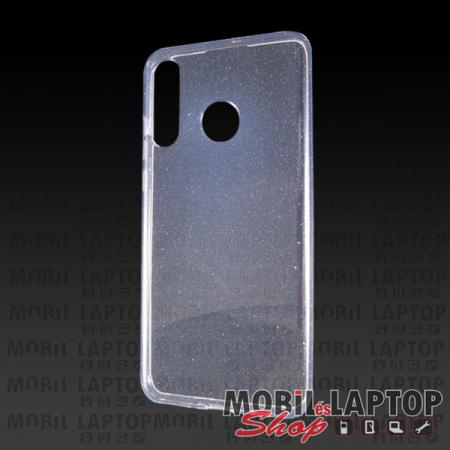 """Szilikon tok Apple iPhone 11 ( 6,1"""" ) csillámos átlátszó"""