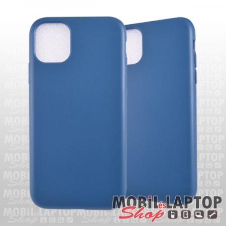 "Szilikon tok Apple iPhone 11 ( 6,1"" ) matt kék"