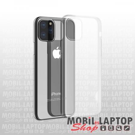 """Szilikon tok Apple iPhone 11 ( 6,1"""" ) ultravékony átlátszó"""