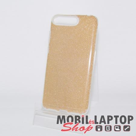 """Szilikon tok Apple iPhone 11 Pro ( 5,8"""" ) csillámos arany"""