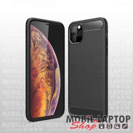 "Szilikon tok Apple iPhone 11 Pro ( 5,8"" ) fekete karbon minta"