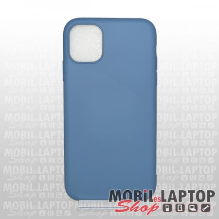 """Szilikon tok Apple iPhone 11 Pro Max ( 6,5"""" ) ultravékony matt kék"""
