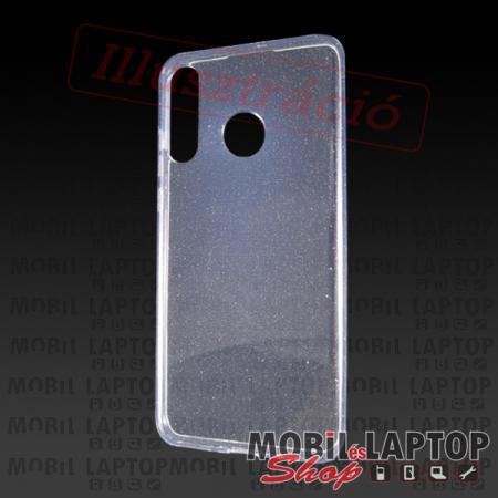 """Szilikon tok Apple iPhone 12 / 12 Pro ( 6,1"""" ) csillámos átlátszó"""