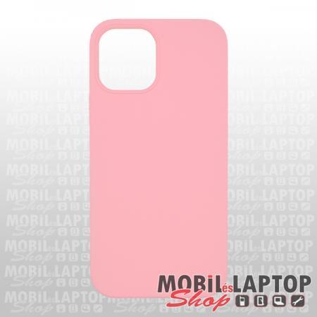 """Szilikon tok Apple iPhone 12 / 12 Pro ( 6,1"""" ) Soft Touch rózsaszín"""