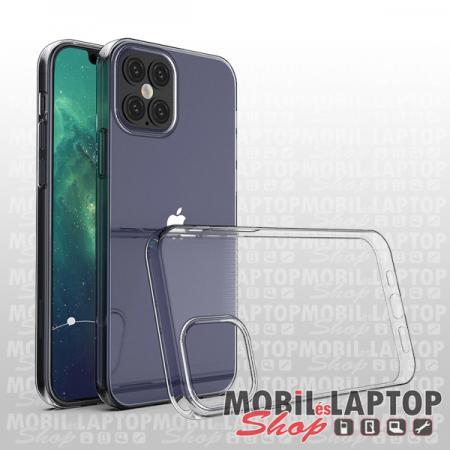 """Szilikon tok Apple iPhone 12 / 12 Pro ( 6,1"""" ) ultravékony átlátszó"""