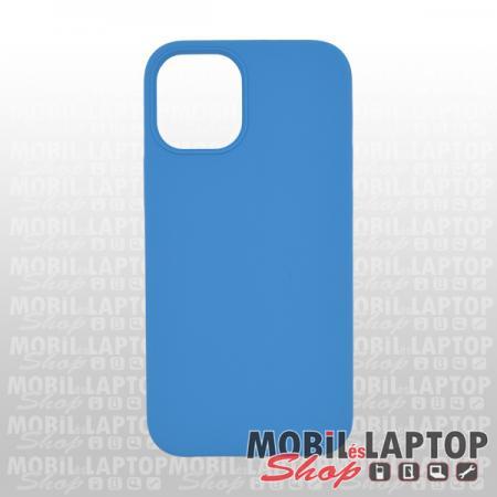 "Szilikon tok Apple iPhone 12 Mini ( 5,4"" ) Soft Touch kék"