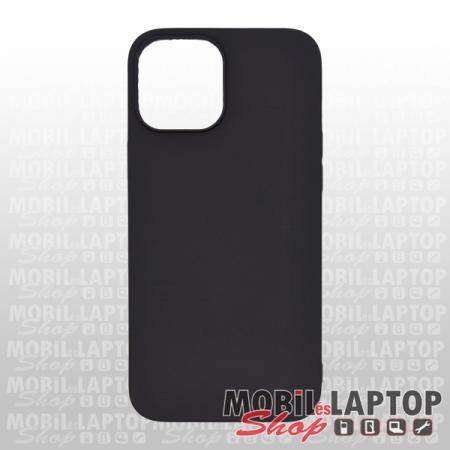 """Szilikon tok Apple iPhone 12 Pro Max ( 6,7"""" ) ultravékony matt fekete"""