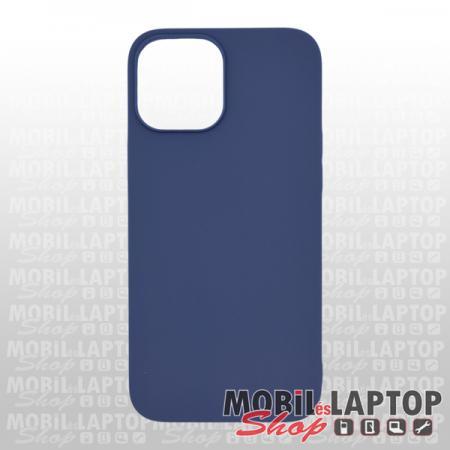 """Szilikon tok Apple iPhone 12 Pro Max ( 6,7"""" ) ultravékony matt kék"""