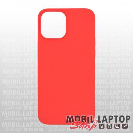 """Szilikon tok Apple iPhone 12 Pro Max ( 6,7"""" ) ultravékony matt piros"""