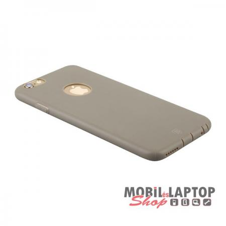 Szilikon tok Apple iPhone 6 / 6S Baseus Misu Case barna