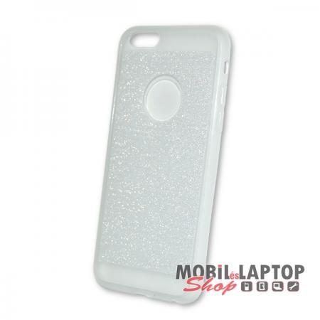 Szilikon tok Apple iPhone 6 / 6S csillámos átlátszó