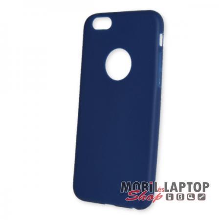 Szilikon tok Apple iPhone 6 / 6S ultravékony matt kék