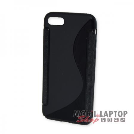 "Szilikon tok Apple iPhone 7 / 8 ( 4,7"" ) fekete"