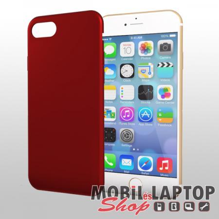 "Szilikon tok Apple iPhone 7 / 8 ( 4,7"" ) Soft Touch piros"