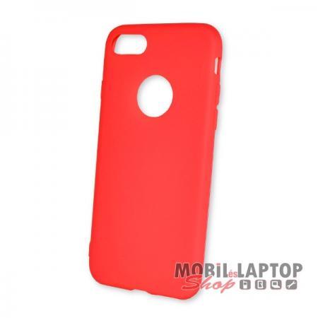 """Szilikon tok Apple iPhone 7 / 8 ( 4,7"""" ) ultravékony matt piros"""