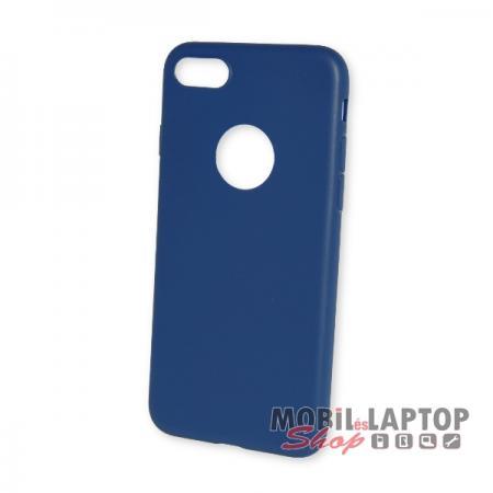 """Szilikon tok Apple iPhone 7 / 8 ( 4,7"""" ) ultravékony matt sötétkék"""