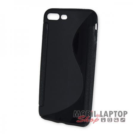 """Szilikon tok Apple iPhone 7 Plus / 8 Plus 5,5"""" fekete"""