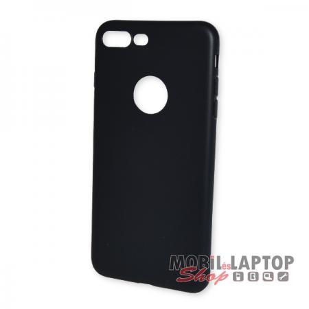 "Szilikon tok Apple iPhone 7 Plus / 8 Plus 5,5"" ultravékony matt fekete"