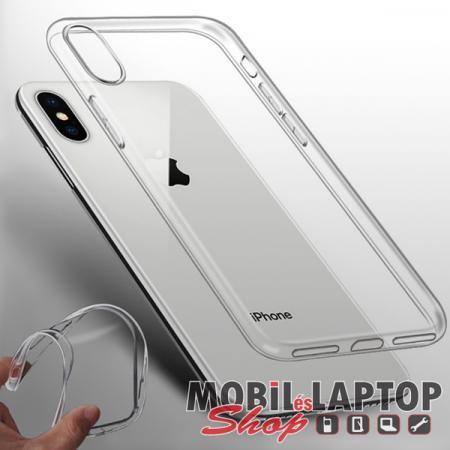 """Szilikon tok Apple iPhone XR ( 6,1"""" ) ultravékony átlátszó"""