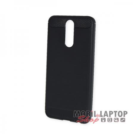 Szilikon tok Huawei Mate 10 Lite fekete karbon minta