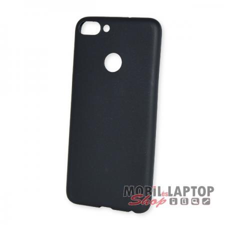 Szilikon tok Huawei P Smart / Enjoy 7S ultravékony matt fekete