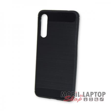 Szilikon tok Huawei P20 Pro fekete karbon minta