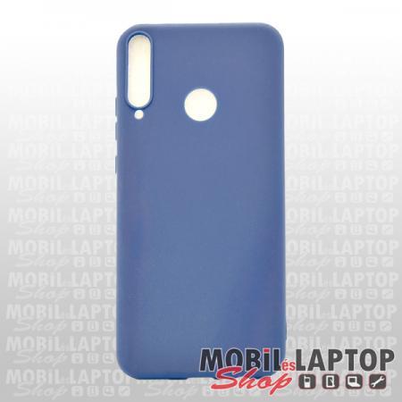 Szilikon tok Huawei P40 Lite E ultravékony matt kék