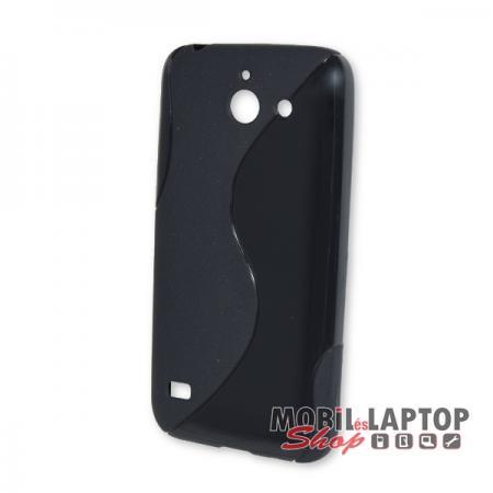 Szilikon tok Huawei Y550 fekete