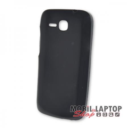 Szilikon tok Huawei Y600 fekete