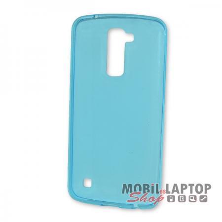 Szilikon tok LG K420 K10 ultravékony kék