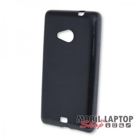 Szilikon tok Microsoft Lumia 535 fekete