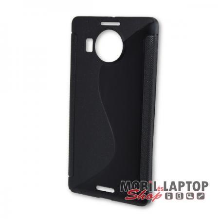 Szilikon tok Microsoft Lumia 950 XL fekete