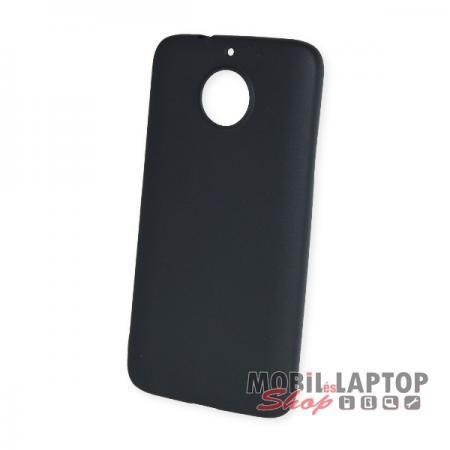 Szilikon tok Motorola XT1803 Moto G5S Plus ultravékony matt fekete