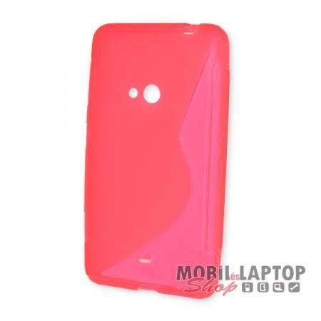 Szilikon tok Nokia Lumia 625 rózsaszín