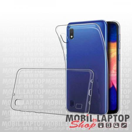 Szilikon tok Samsung A105 Galaxy A10 ultravékony átlátszó