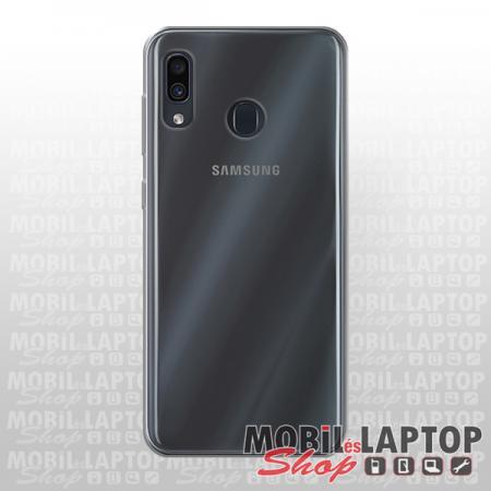 Szilikon tok Samsung A205 Galaxy A20 ultravékony átlátszó